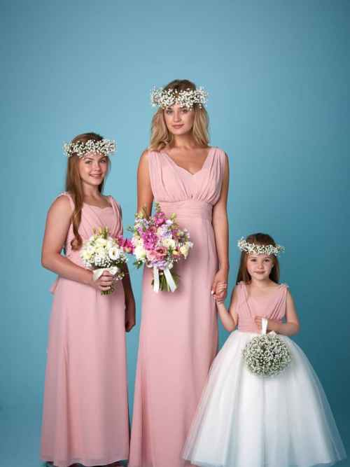 Amanda Wyatt 2259 bridesmaid dress and flower girl dress