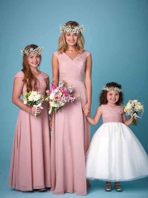 Amanda Wyatt 2262 bridesmaid dress and flower girl dress winchester, hampshire