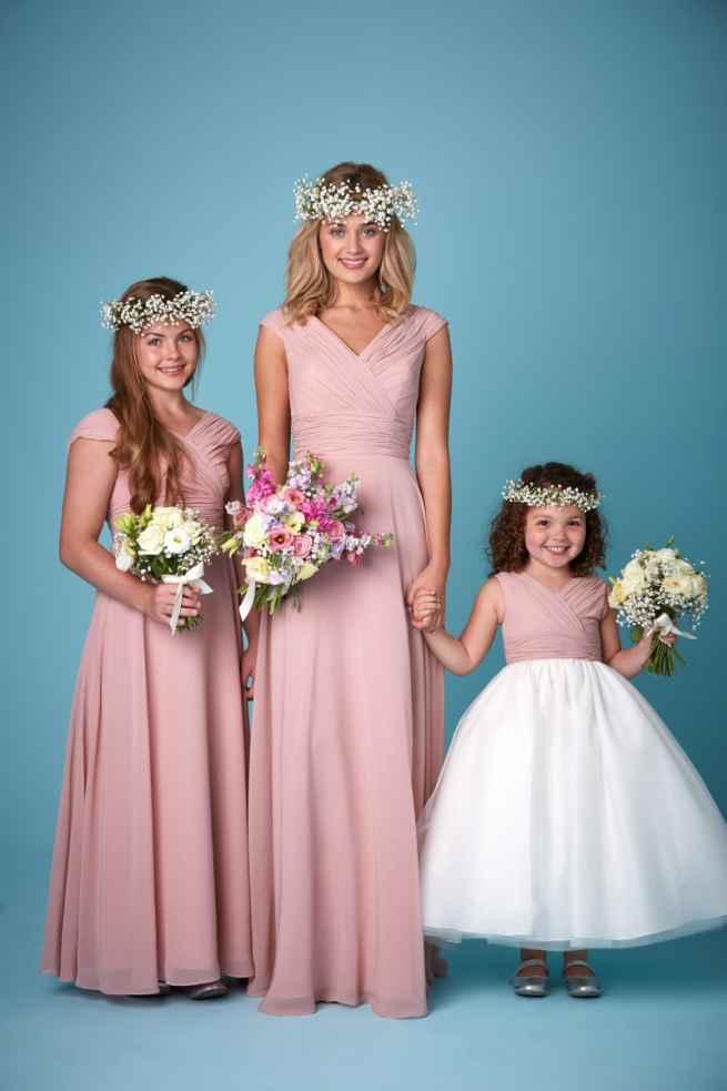 Amanda Wyatt 2262 bridesmaid dress and flower girl dress winchester, hampshire