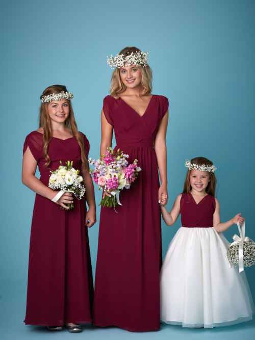 Amanda Wyatt 2263 bridesmaid dress and flower girl dress winchester, hampshire