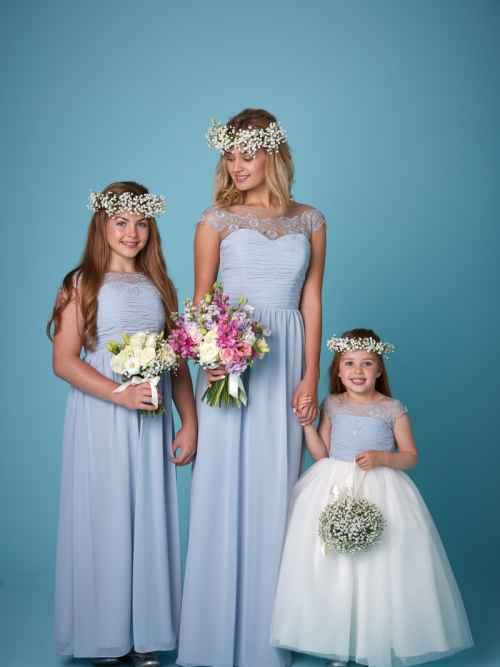 Amanda Wyatt 2265 bridesmaid dress and flower girl dress, winchester, hampshire