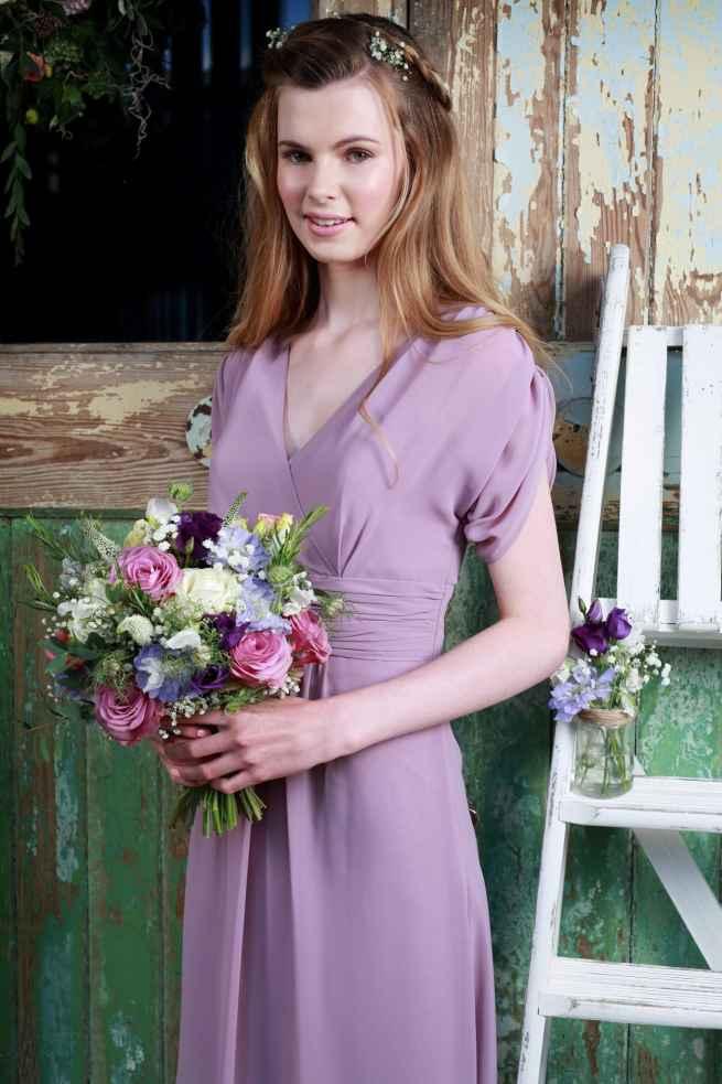 Amanda Wyatt 2263 bridesmaid dress and flower girl dress winchester, hampshire
