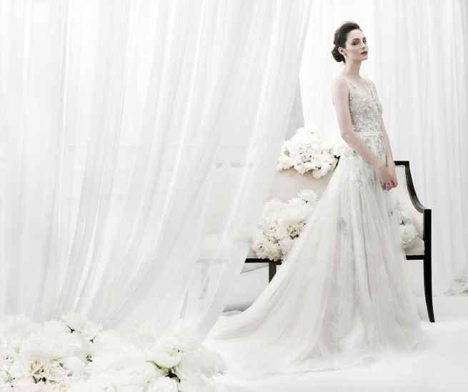 Diamond Wedding Dress by Annasul Y.