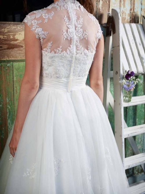 Amanda Wyatt Geena Wedding Dress Tea Dress