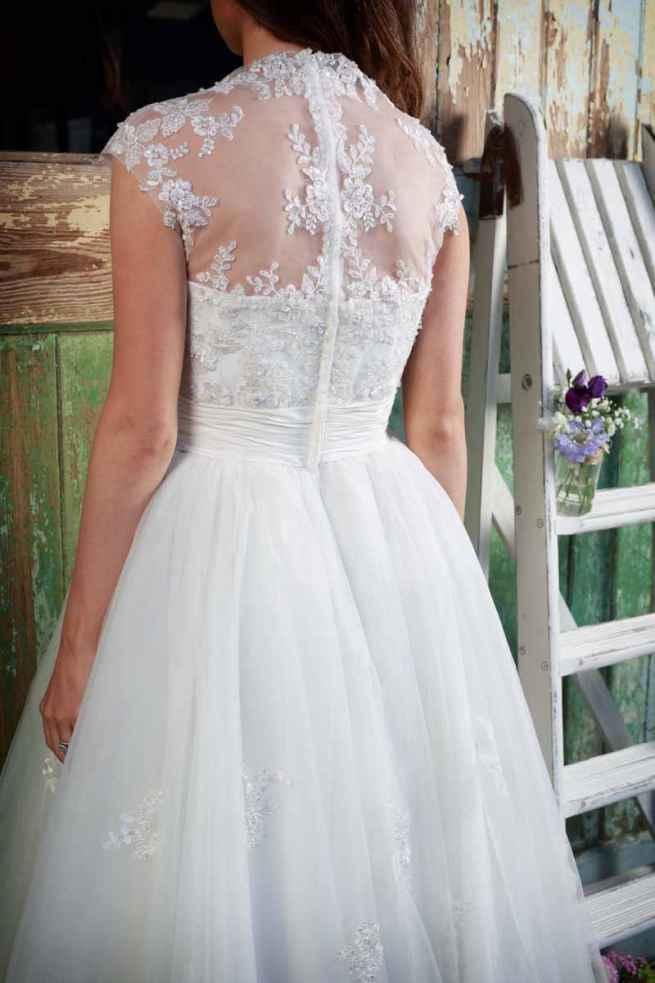 Amanda Wyatt Geena Wedding Dress Tea Dress