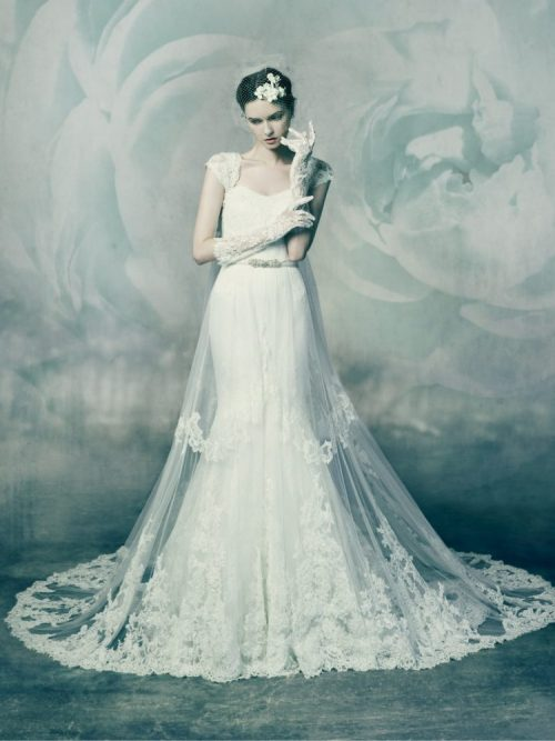 Malachite by Annasul Y., Wedding dress