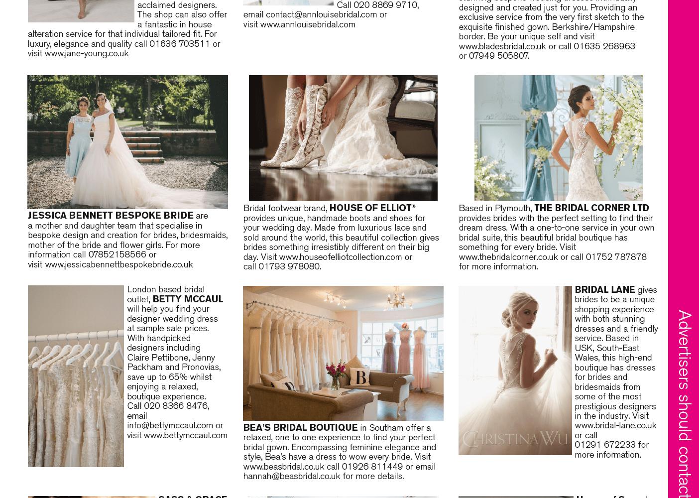 Sass & Grace Bridal boutique winchester, hampshire, wiltshire, west sussex, dorset berkshire, surrey