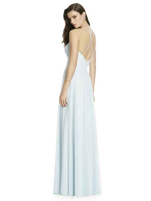 Dessy 2988 bridesmaid dress rear, Sass & Grace Bridal Boutique