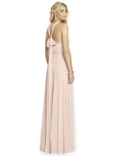 Dessy 6760 bridesmaid dress rear, Sass & Grace Bridal Boutique