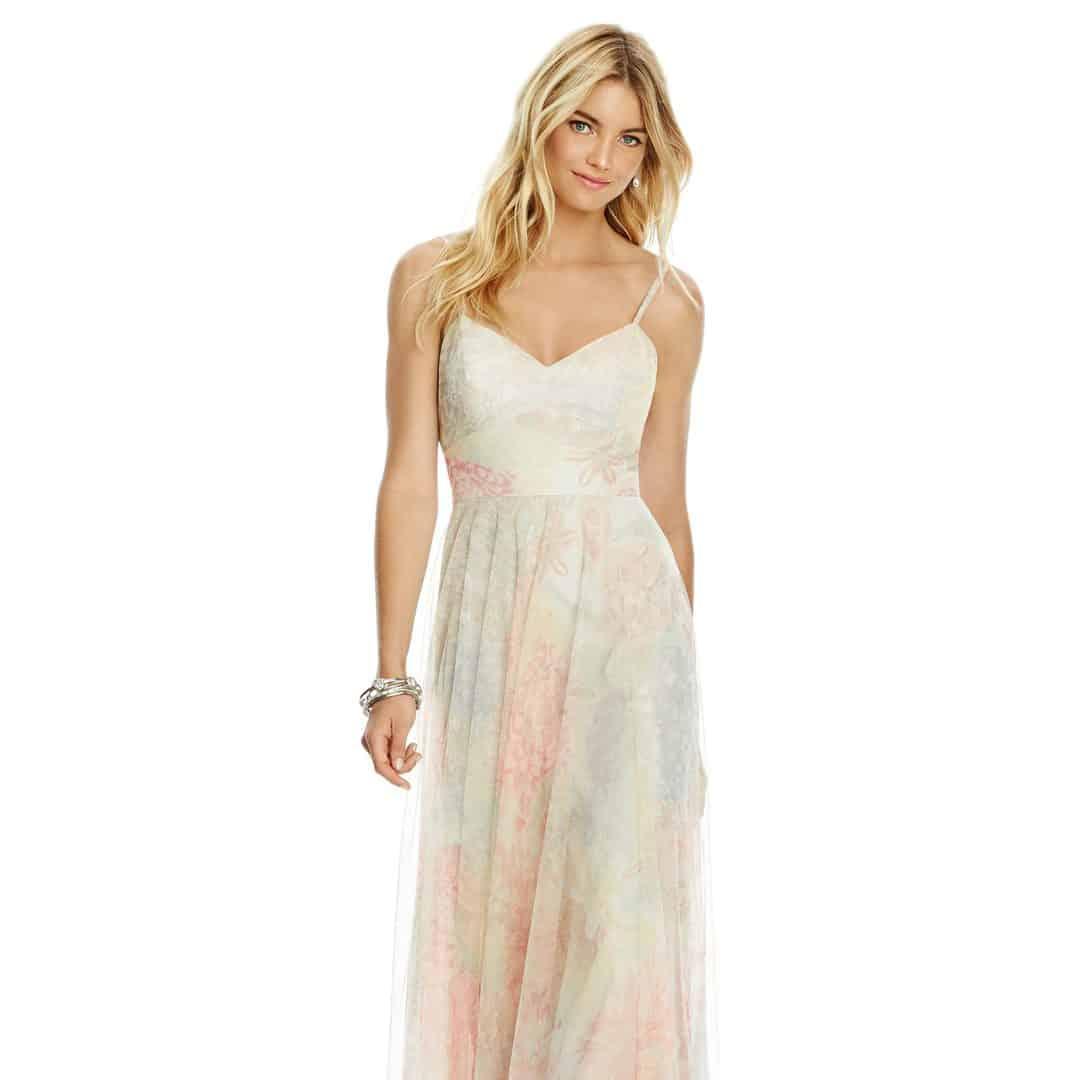 Dessy 6766 Rose Romance Sass And Grace Bridal Boutique
