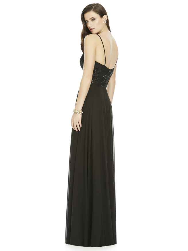 Dessy S2984 bridesmaid dress rear, Sass & Grace Bridal Boutique, Hampshire