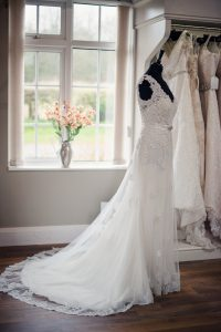 Wedding Dress in Boutique