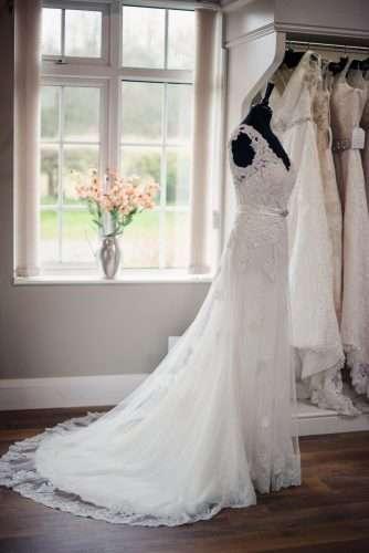 Wedding Dress in Boutique