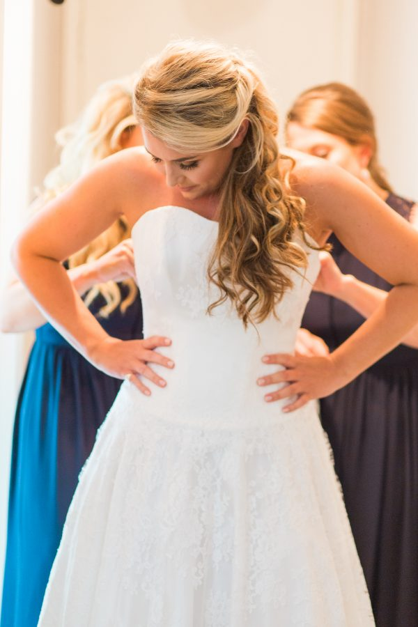 Wedding dress by Sass and Grace