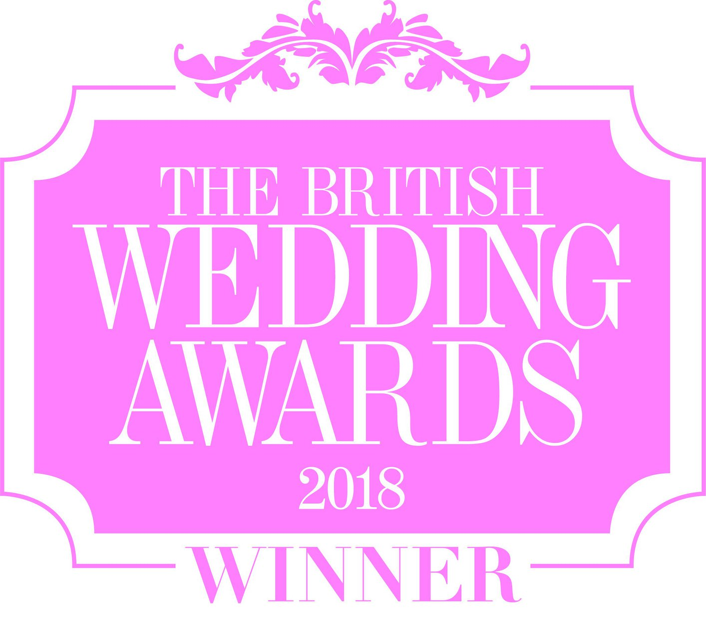 Winners of British Wedding Awards Best Newcomer 2018