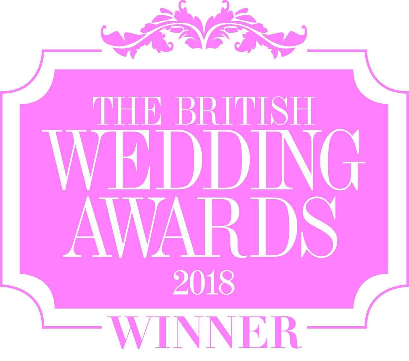 Winners of British Wedding Awards Best Newcomer 2018