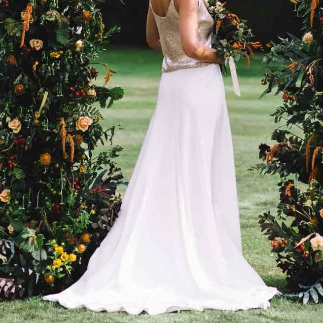 Edna skirt by Sabina Motasem, Sass & Grace Hampshire Bridal Boutique