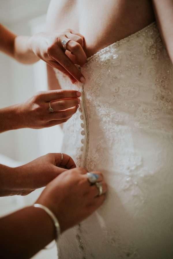 Ellis Bridals Dress Details