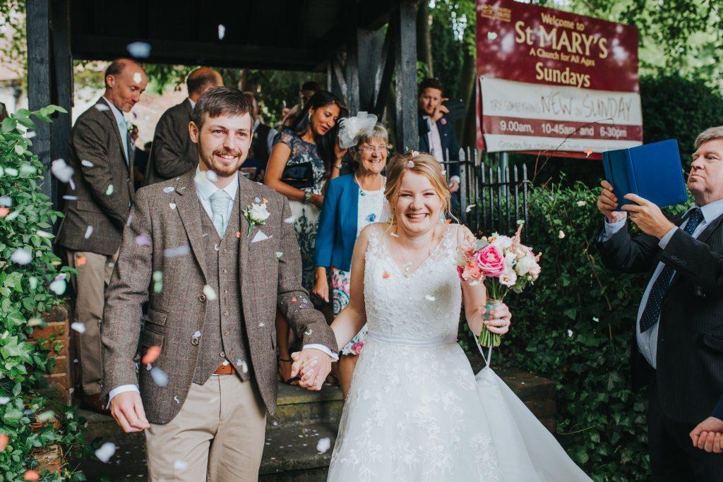 Hannah celebrates Wedding Day