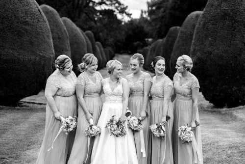 Bridesmaids at Elvetham