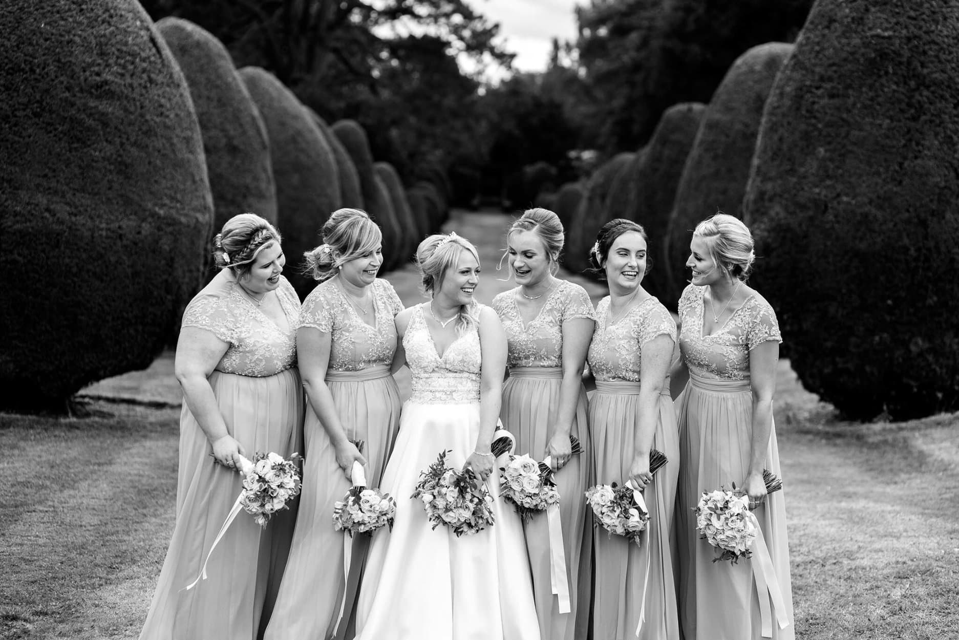 Bridesmaids at Elvetham