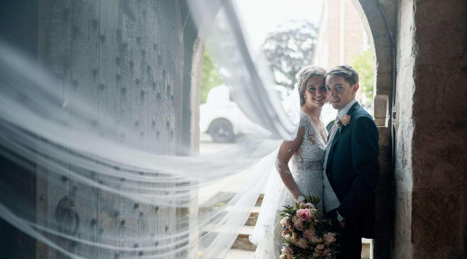 Cymbeline dress with Cymbeline Brazilia Veil