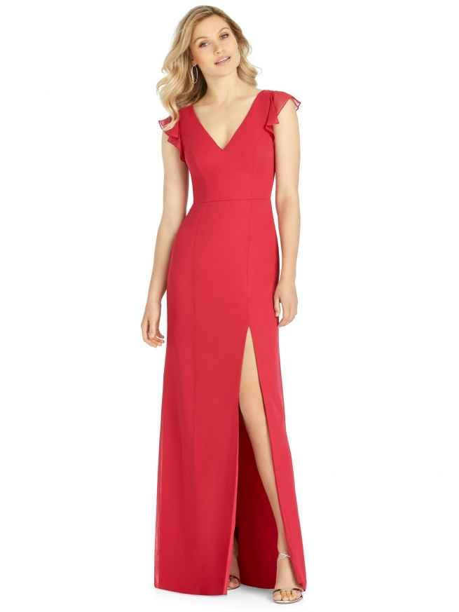Dessy 6810, Sass & Grace Hampshire Bridal Boutique