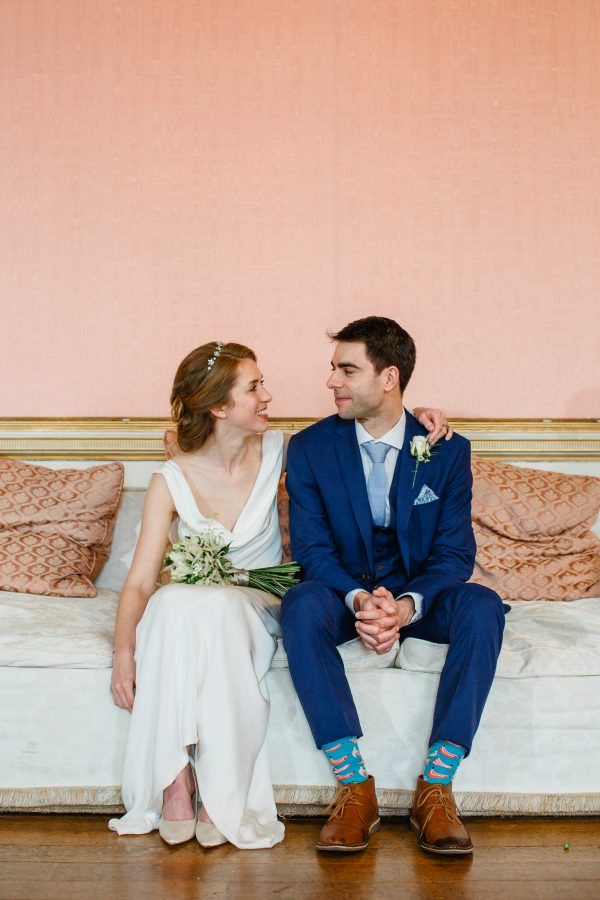 Leah & James Reeal Bride at Sass & Grace Winchester