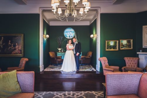 Mia marries at Burley Manor