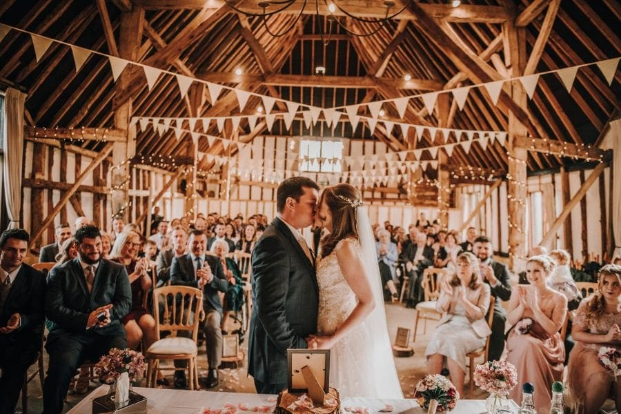 Wedding at The Clock Barn