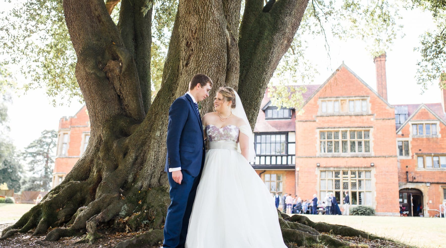 Sarah wears Blossom by Lyn Ashworth