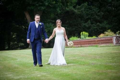 Bride wears bespoke Lyn Ashworth