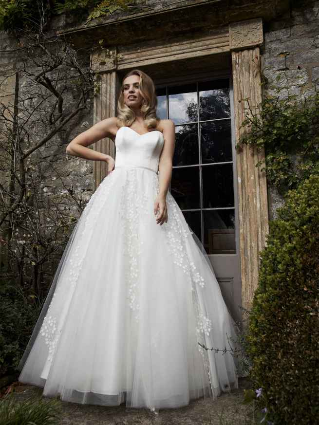 Lyn Ashworth Flora Wedding dress ball gown