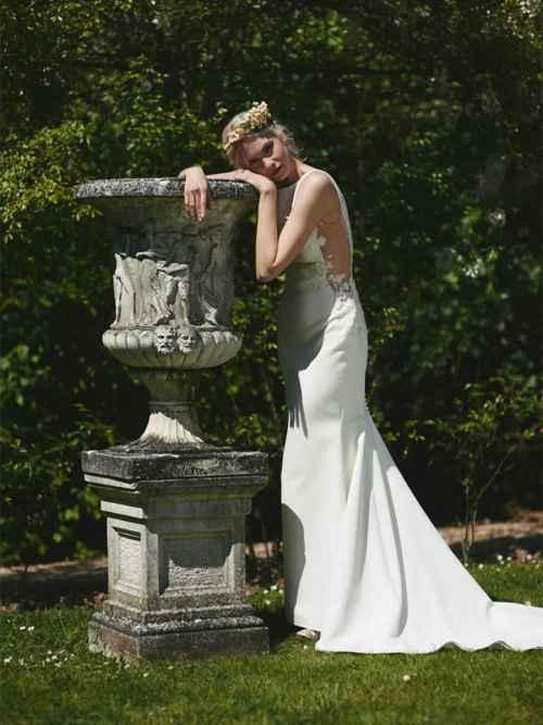 Cymbeline Iria Front Wedding Dress
