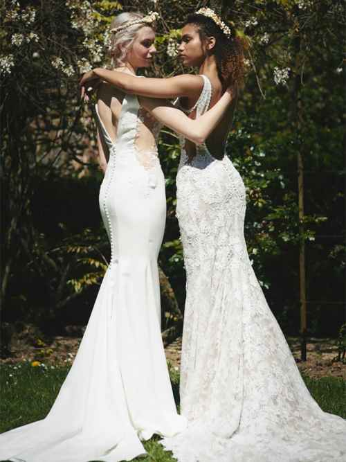 Cymbeline Iria and Istoua Back Wedding Dresses