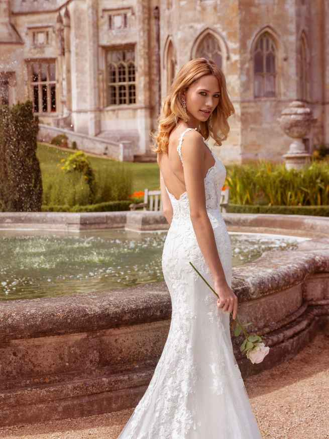 Ellis Bridals Bree Back Wedding Dress