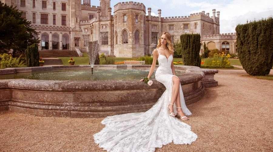 Ellis Bridals Bree Front Wedding Dress