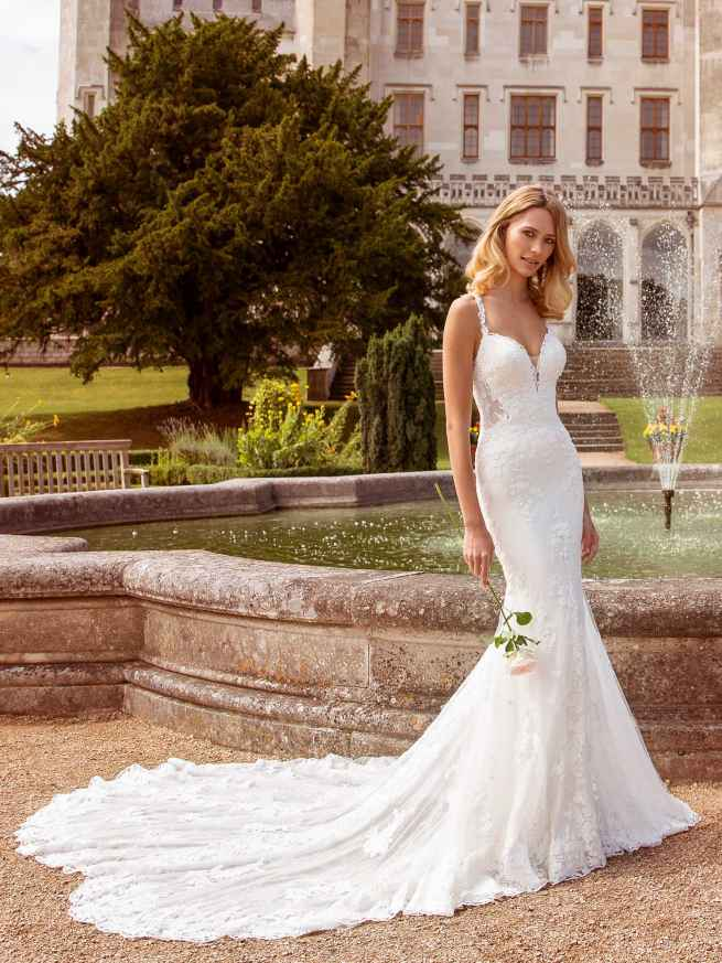 Ellis Bridals Bree Front Wedding Dress
