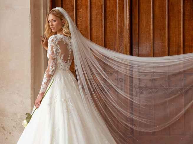 Ellis Bridals Celeste Back Wedding Dress