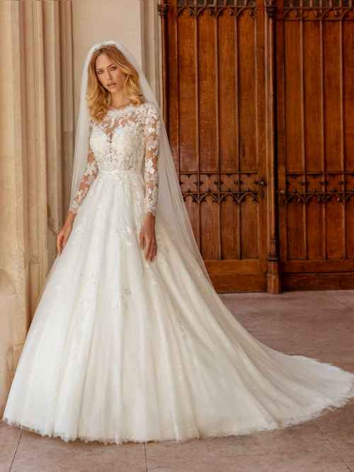 Ellis Bridals Celeste Front Wedding Dress
