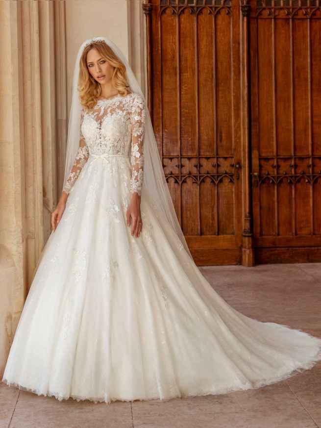 Ellis Bridals Celeste Front Wedding Dress