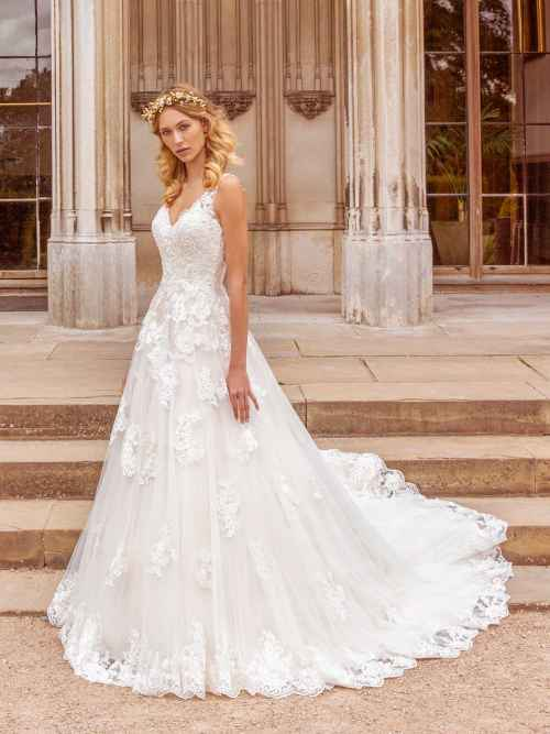 Ellis Bridals Charlotte Front Wedding Dress