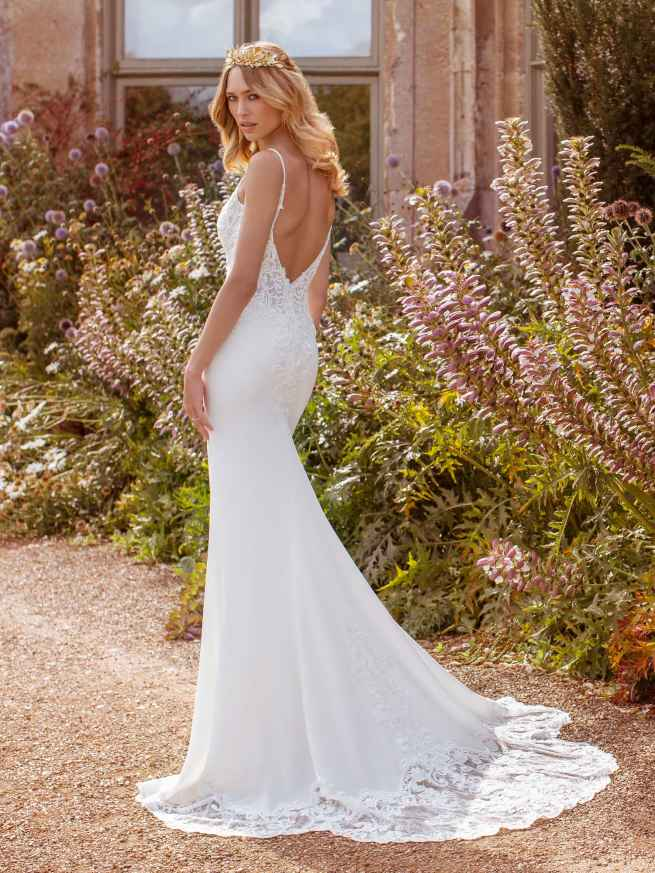 Ellis Bridals Faye Back Wedding Dress