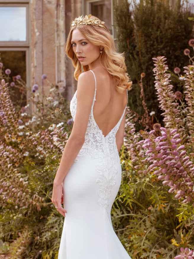 Ellis Bridals Faye Back Wedding Dress
