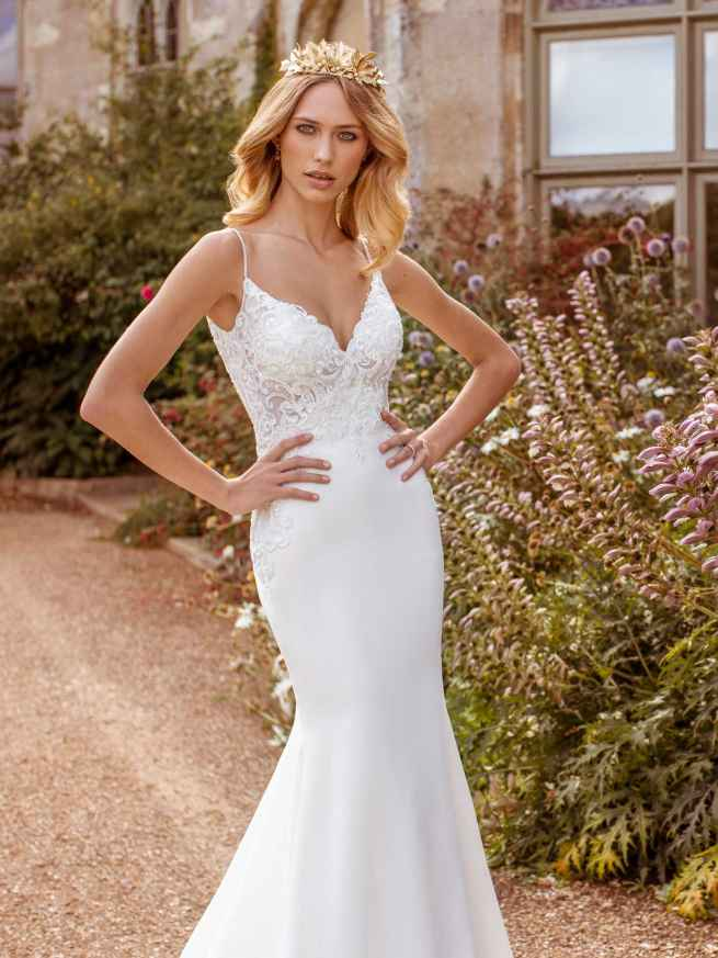Ellis Bridals Faye Front Wedding Dress