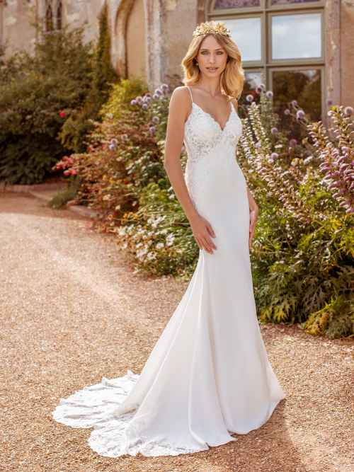 Ellis Bridals Faye Front Wedding Dress