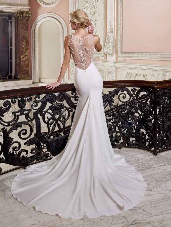 Ellis Bridals Gemma Back Wedding Dress