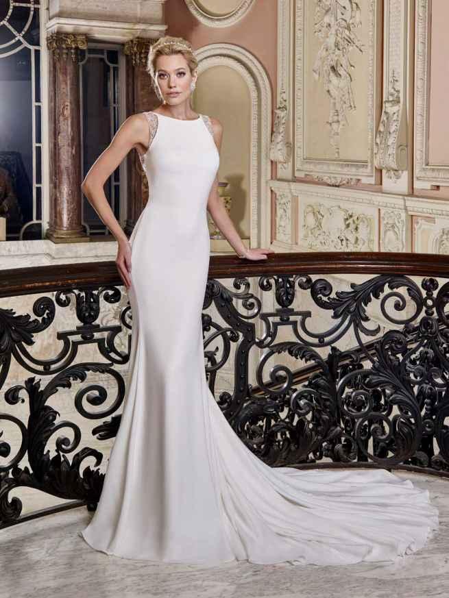 Ellis Bridals Gemma Front Wedding Dress