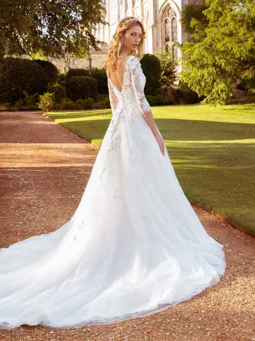 Ellis Bridals Nadia Back Wedding Dress