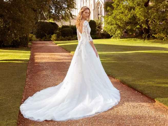 Ellis Bridals Nadia Back Wedding Dress